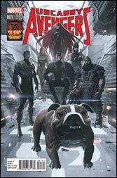 Uncanny Avengers #1 Cover - Ladronn Inhumans Variant