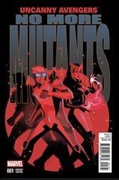 Uncanny Avengers #1 Cover - Teaser Variant