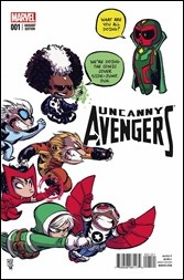 Uncanny Avengers #1 Cover - Young Variant