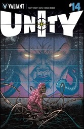 Unity #14 Cover - Lee Variant