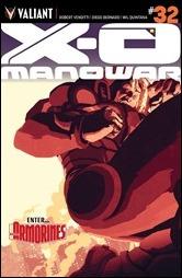 X-O Manowar #32 Cover A - Allen