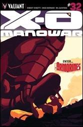 X-O Manowar #32 Cover B - Allen