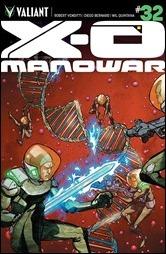 X-O Manowar #32 Cover - Lee Variant