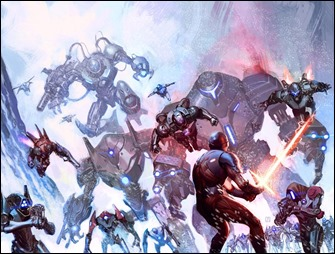 X-O Manowar #34 Cover B - Molina