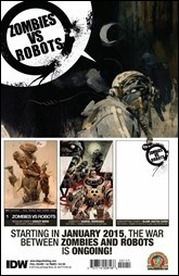 Zombies vs Robots #1 Preview 11