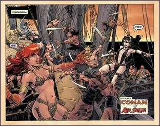 Conan Red Sonja #2 Preview 2