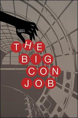Palmiotti & Brady's The Big Con Job #1 Jackpot Variant Cover