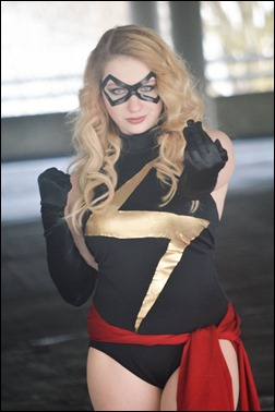 PrettyWreck Cosplay as Ms. Marvel (Photo by Seventh Sky COStography)