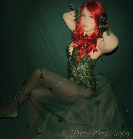PrettyWreck Cosplay as Poison Ivy