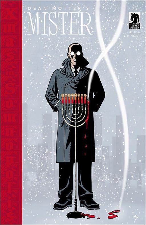 Mister X: Razed #1 Cover
