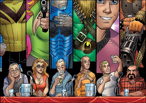 Palmiotti & Brady's The Big Con Job #1