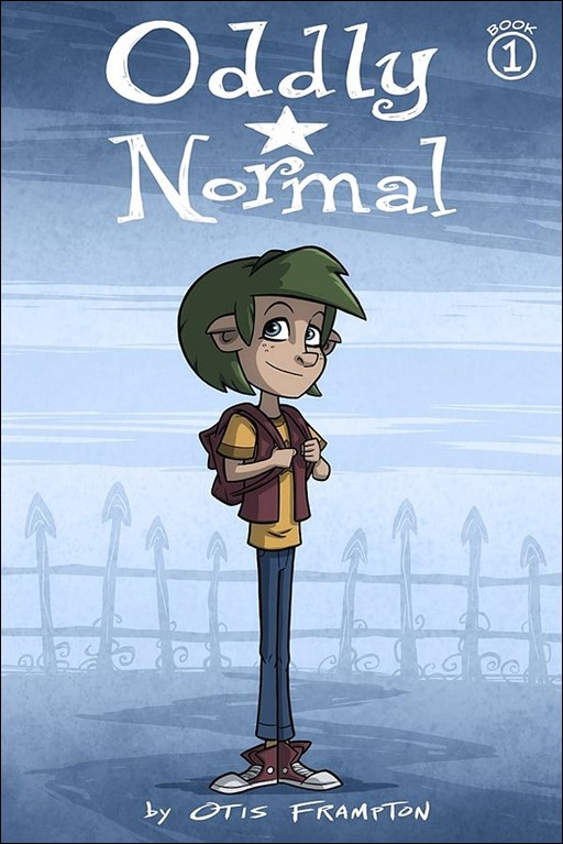 Oddly Normal: Book One Cover