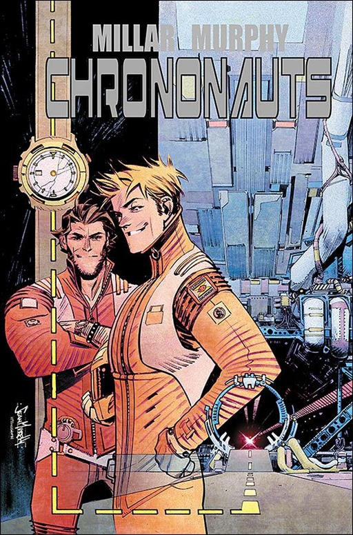 Chrononauts #1 Cover