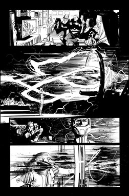 Chrononauts #1 Preview 4 inks