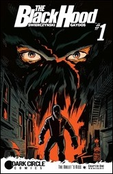 The Black Hood #1 Cover - Francavilla Variant