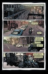 The Black Hood #1 Preview 1