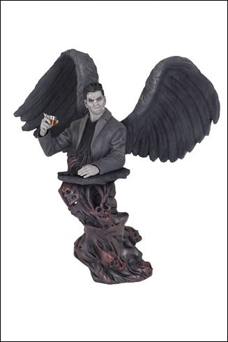 Steve Niles's Criminal Macabre: Cal McDonald bust - Ultra Limited Winged Version
