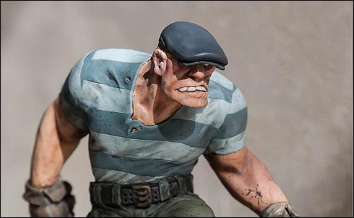 Eric Powell's The Goon Statue