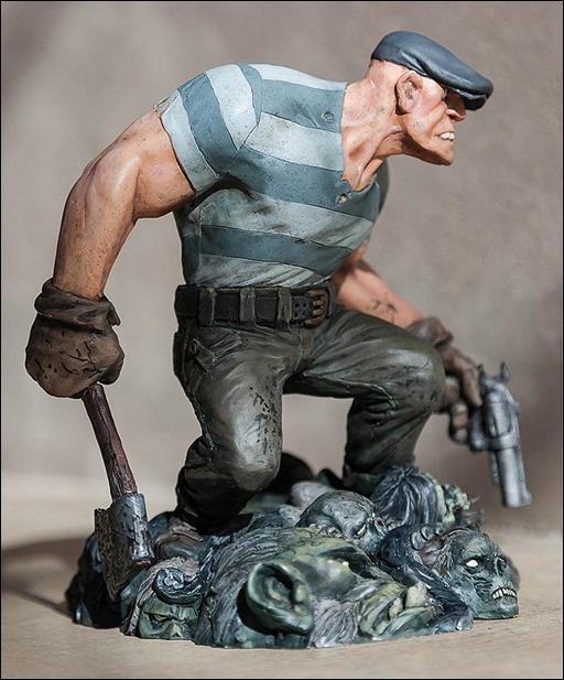 Eric Powell's The Goon Statue
