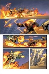 Ghost Racers #1 unlettered Preview 1