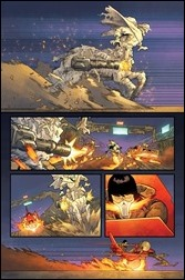 Ghost Racers #1 unlettered Preview 2