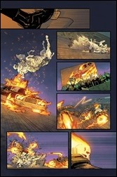 Ghost Racers #1 unlettered Preview 4