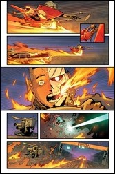 Ghost Racers #1 unlettered Preview 5