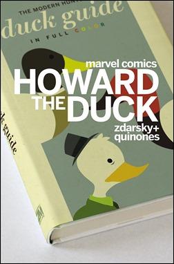 Howard The Duck #1 Cover - Zdarsky