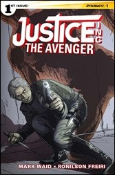 Justice, Inc.: The Avenger #1 Cover - Laming