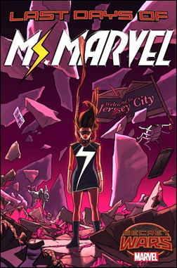 Ms. Marvel #16 Cover