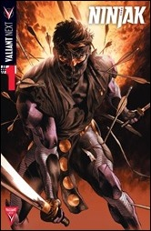 NINJAK #1 – Cover A by Lewis LaRosa