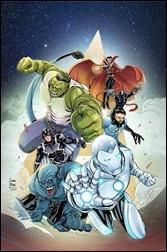 New Avengers #31 Cover - WOM Braga Variant