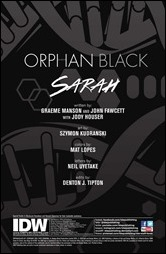Orphan Black #1 Preview 1