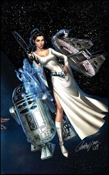 Princess Leia #1 Cover - Campbell Variant