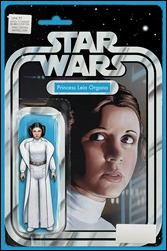 Princess Leia #1 Cover - Christopher Action Figure Variant