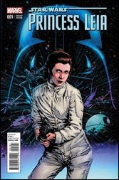 Princess Leia #1 Cover - Guice Variant
