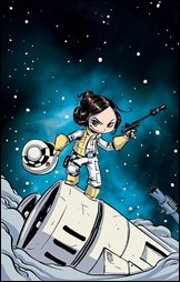 Princess Leia #1 Cover - Young Variant
