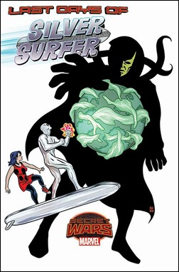 Silver Surfer #13 Cover