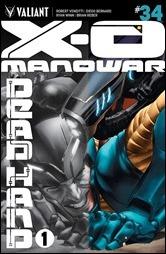 X-O Manowar #34 Cover A - LaRosa