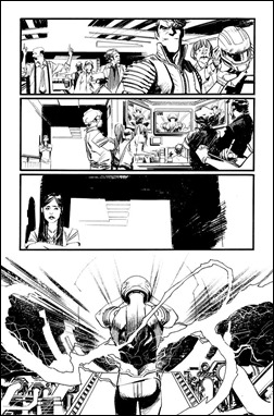 Chrononauts #1 Preview 5 inks