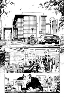 Chrononauts #1 Preview 3 inks