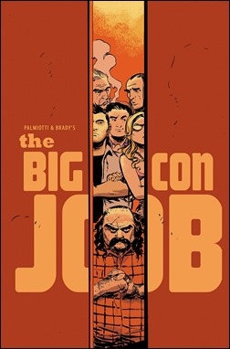 Palmiotti & Brady's The Big Con Job #1 Incentive Cover by Dan McDaid