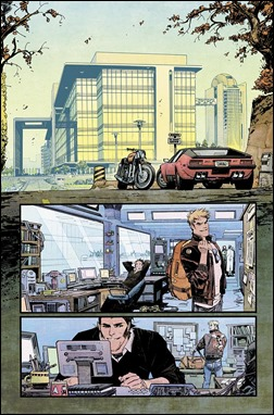 Chrononauts #1 Preview 3 colors