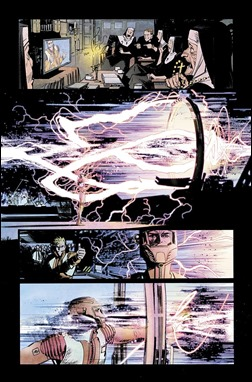 Chrononauts #1 Preview 4 colors