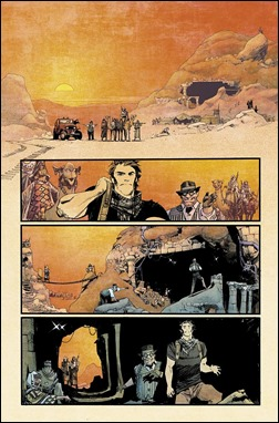 Chrononauts #1 Preview 1 colors