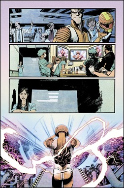 Chrononauts #1 Preview 5 colors