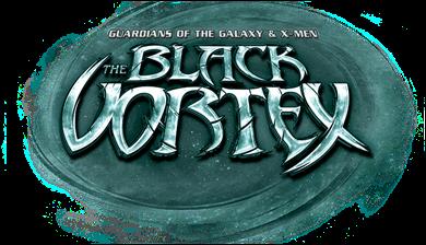 Guardians of The Galaxy & X-Men: The Black Vortex Logo
