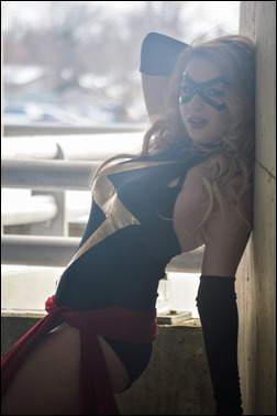 PrettyWreck Cosplay as Ms. Marvel (Photo by Kouki-li cosplay and photography)