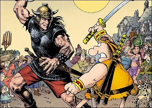 Groo vs. Conan TPB