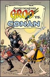 Groo vs. Conan TPB Cover